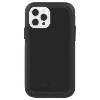 【Pelican × Case-Mate】抗菌ケース iPhone 12 Pro Max Pelican Voyager - Black w/ Micropel ホルスターセット