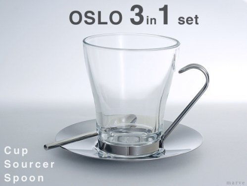 OSLO CAPPUCCINOカップセット 3 in 1<img class='new_mark_img2' src='https://img.shop-pro.jp/img/new/icons55.gif' style='border:none;display:inline;margin:0px;padding:0px;width:auto;' />