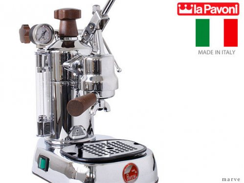 "la Pavoni ラ・パボーニ ""PROFESSIONAL"" PLH ウッドレバーグリップ エスプレッソマシン<img class='new_mark_img2' src='https://img.shop-pro.jp/img/new/icons16.gif' style='border:none;display:inline;margin:0px;padding:0px;width:auto;' />"