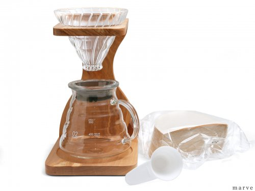 HARIO V60オリーブウッドスタンドセット<img class='new_mark_img2' src='https://img.shop-pro.jp/img/new/icons1.gif' style='border:none;display:inline;margin:0px;padding:0px;width:auto;' />