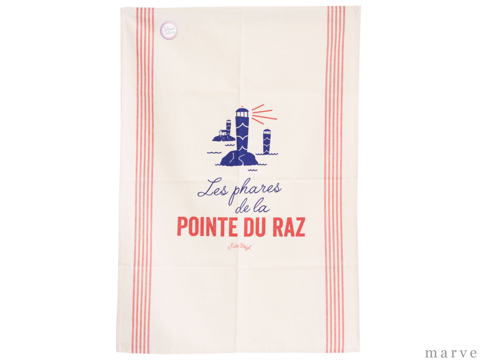 mp coffee gear キッチンタオル トーション POINTE DU RAZ ルージュ【フランス製】<img class='new_mark_img2' src='https://img.shop-pro.jp/img/new/icons1.gif' style='border:none;display:inline;margin:0px;padding:0px;width:auto;' />