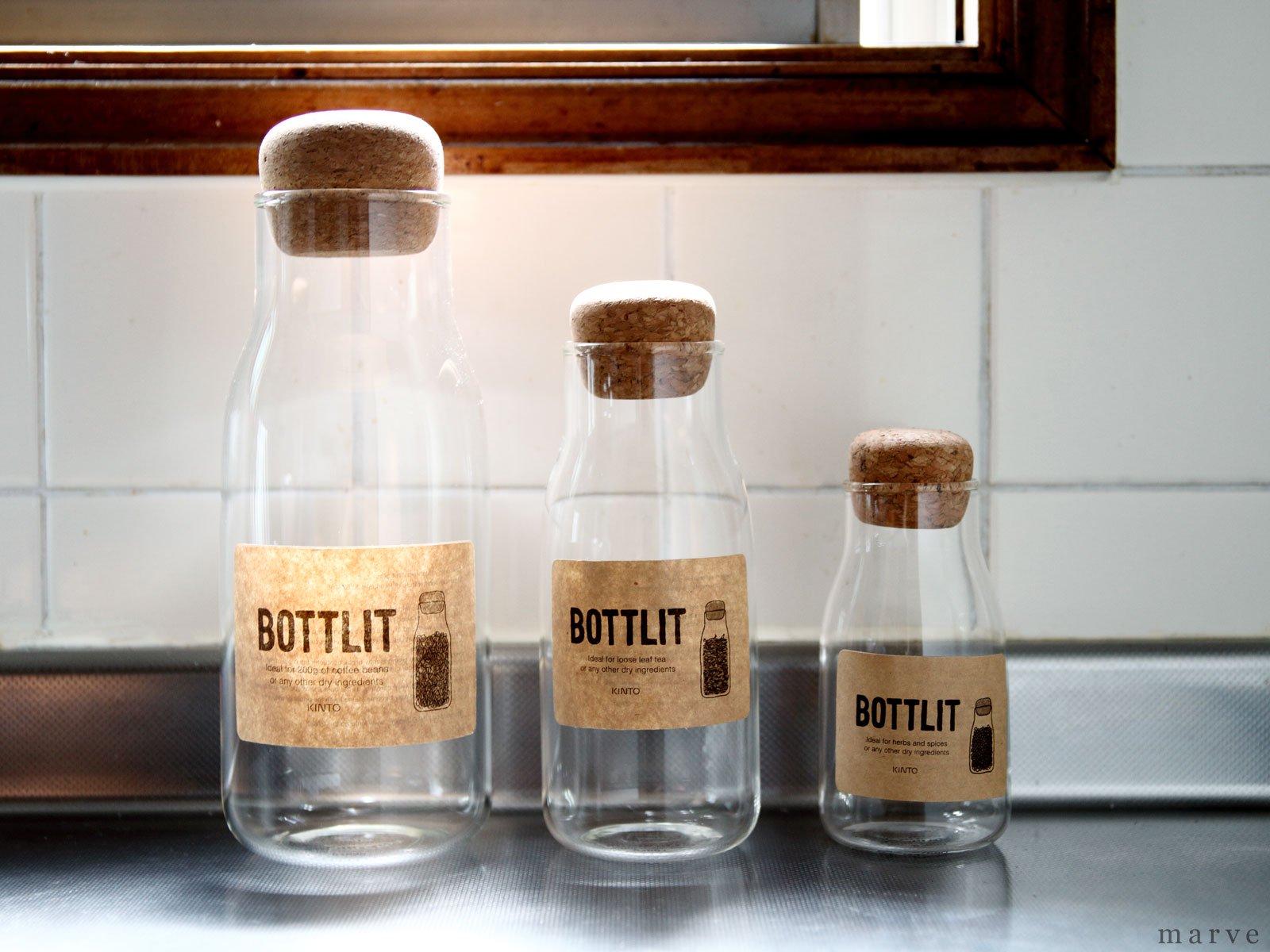 BOTTLIT(ボトリット) ガラスキャニスター 600ml