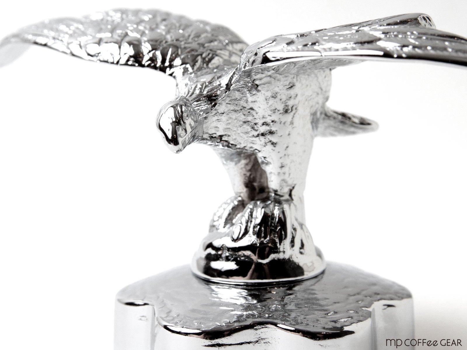 キャラコ la Pavoni ラ・パボーニ専用 鷲オーナメント クローム