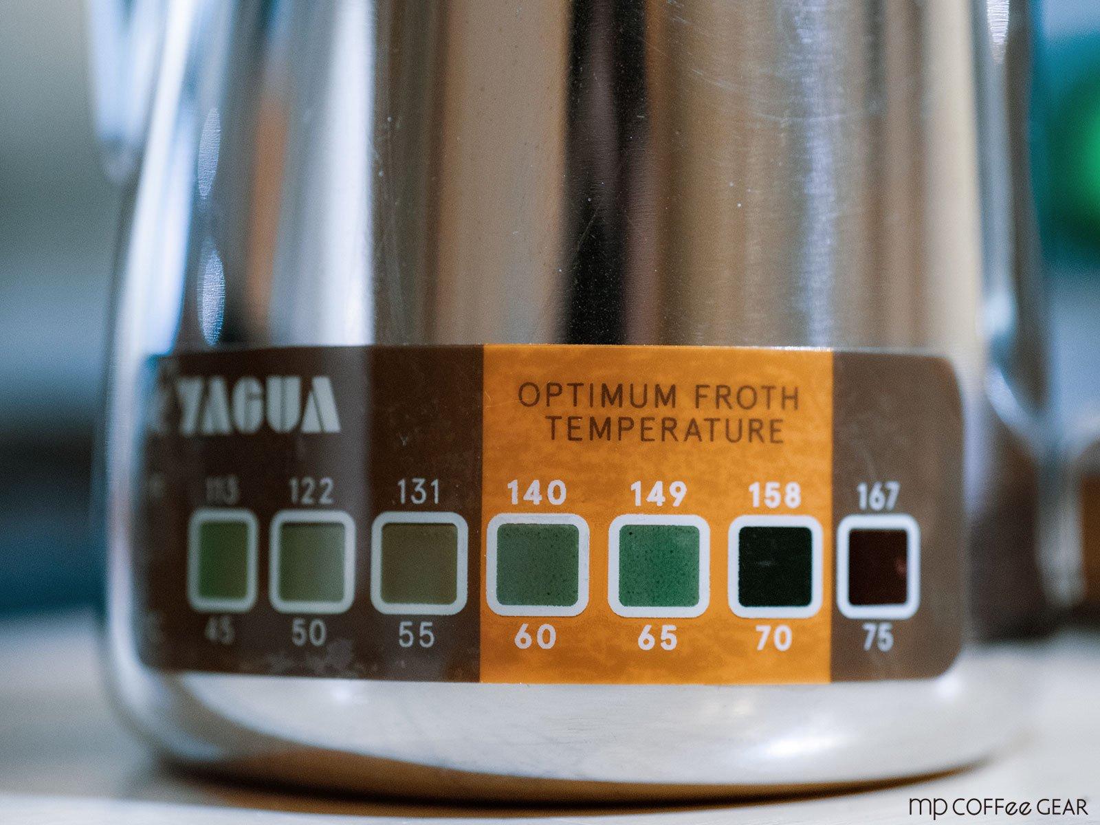 ミルクジャグ用 温度ラベル