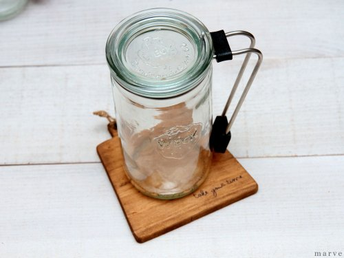 【OUTLET】WECK TUMBLER BLACK ウェックタンブラー黒340ml ガラス蓋付き