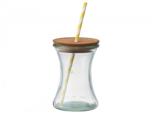 【OUTLET】WITH WECK DRINK BOTTLE WE-996  ウェック 木製蓋付きドリンクボトルセット330ml