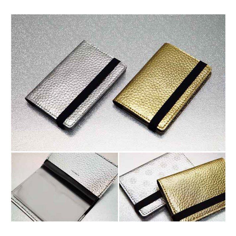 カードケース(10ポケット) ドット柄【ゴールド】