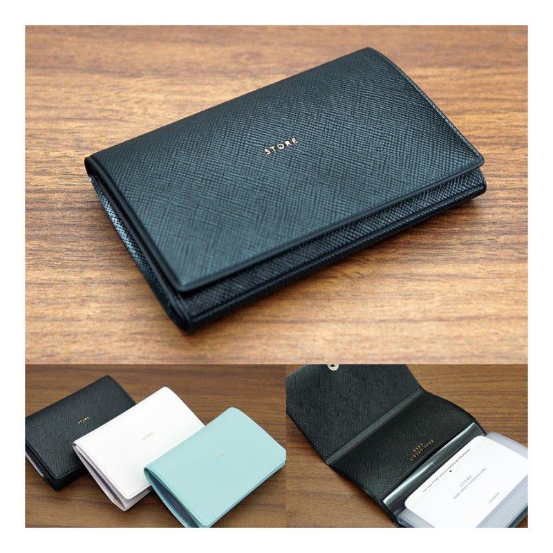 ADELE カードケース(10ポケット)【ブラック】