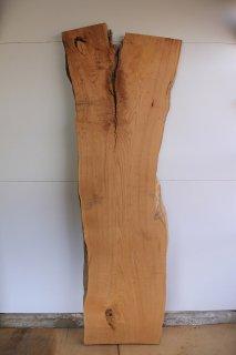 栗 無垢一枚板 完全乾燥 木材 送料無料