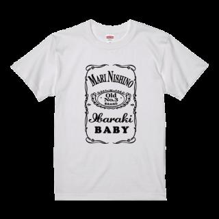 飲み物Tシャツウィスキーボトル