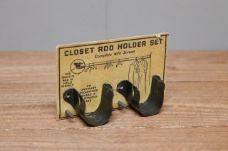 HW4-Closet Rod Holder Set