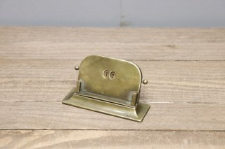 Brass Desk Calendar
