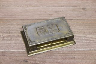 <img class='new_mark_img1' src='https://img.shop-pro.jp/img/new/icons14.gif' style='border:none;display:inline;margin:0px;padding:0px;width:auto;' />Desk Top Brass Advertising Memo-pad