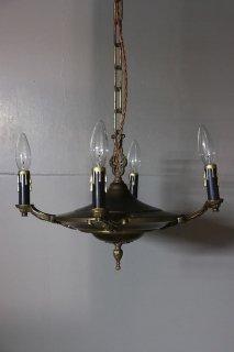 1940s 4-bulbs Chandelier