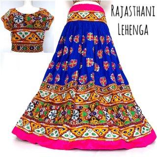 Rajasthani Lehenga ◇◆ インド 民族衣装 ラジャスタン レヘンガ チョリ インド舞踊 インドダンス インドフュージョン 民族舞踊 フォークダンス