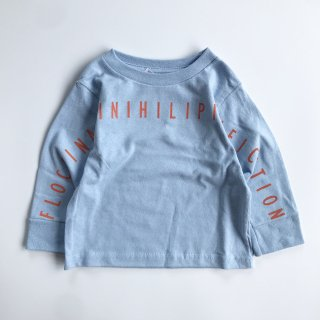 SPUT performance / Floccinaucinihilipilification Kids L/S T-shirt - light blue