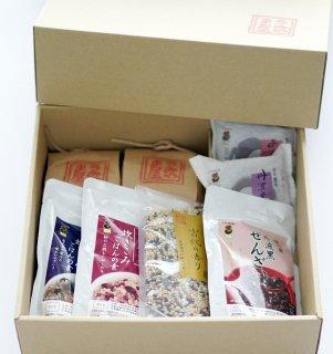 自然農法古代米・黒豆健康セット