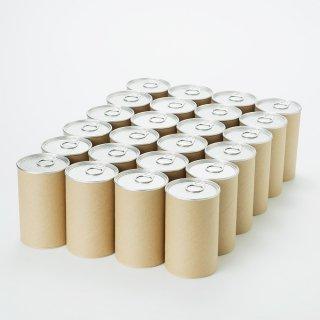 クラフト紙缶 小(内径 63mm x 高さ110mm) 24缶単位