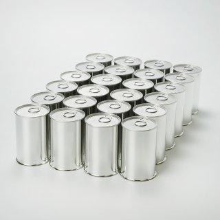 スチール缶(加工&製缶作業代行込み)小(内径65mmx高さ110mm)24缶単位