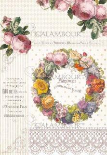 calambour:デコパージュ用ペーパー(ライスペーパー)TCR-16