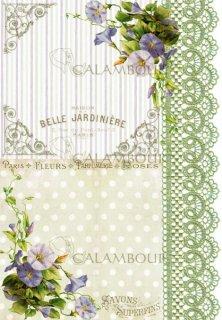calambour:デコパージュ用ペーパー(ライスペーパー)TCR-18