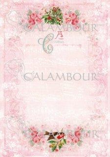 calambour:デコパージュ用ペーパー(ライスペーパー)DGR-270