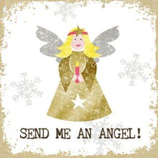 ペーパーナプキン(33)ppd:(5枚)Send me an Angel-PP131
