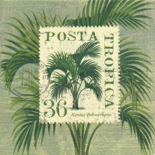 ペーパーナプキン(33)ppd:(5枚)POSTA TROPICA-PP147