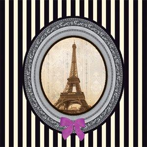 ペーパーナプキン(33)ppd:(5枚)Paris deluxe-PP153
