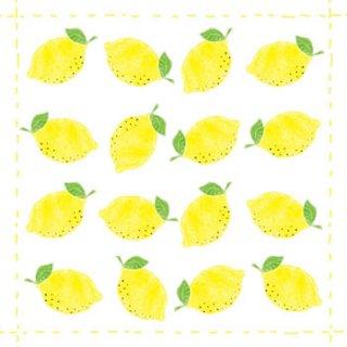 ペーパーナプキン(33)ppd:(5枚)Lemon allover-PP161
