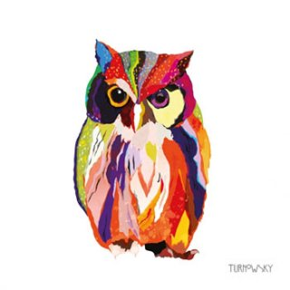 ペーパーナプキン(33)ppd:(5枚)Leros Owl-PP293