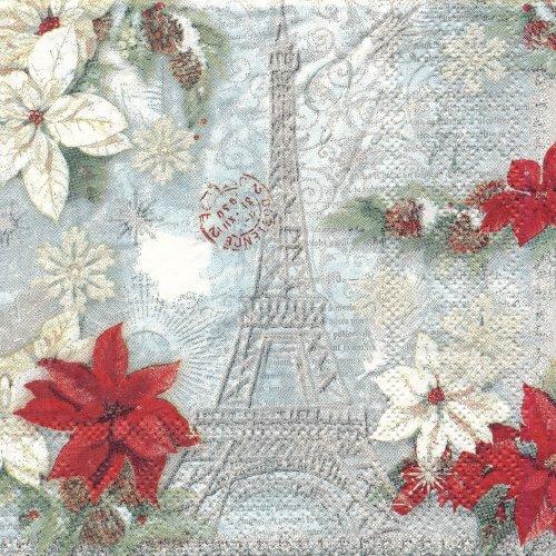 ペーパーナプキン(25)PS:(5枚)Noel Holiday Eiffel 99505-PS11(25)