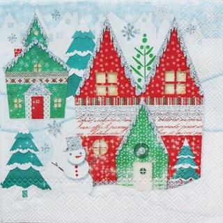 ペーパーナプキン(25)PS:(5枚)Winter Land 43227-PS14(25)