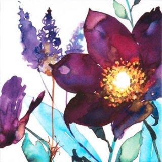 ペーパーナプキン(33)ti-flair:(5枚)Flor de Ciruela-TI88