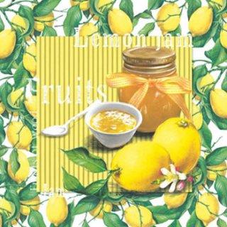 ペーパーナプキン(33)ti-flair:(5枚)Lemon Jam-TI97