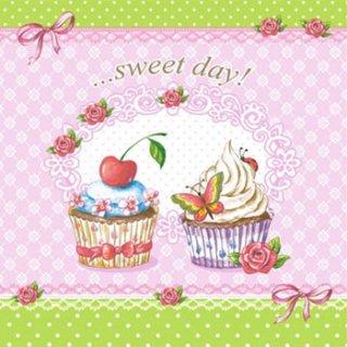 ペーパーナプキン(33)ti-flair:(5枚)Sweet Day-TI99