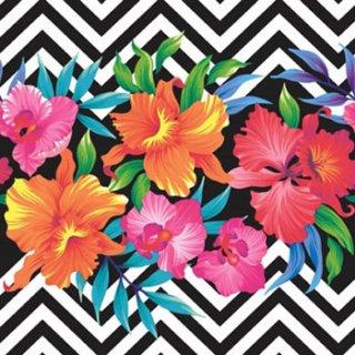 ペーパーナプキン(33)ti-flair:(5枚)Tropical Flowers-TI105