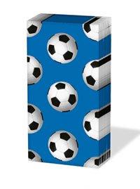 ペーパーナプキン sniff :サッカーボール(ブルー)