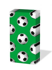 ペーパーナプキン sniff :サッカーボール(グリーン)
