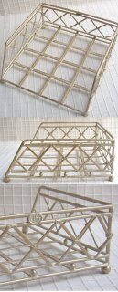 IHRナプキンホルダー:クリーム(33×33cm対応)
