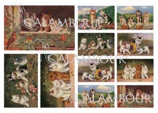 calambour:デコパージュ用ペーパー(デジタルデコパージュペーパー)DGE-167
