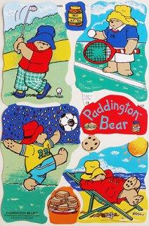 スクラップシート:Paddington Bear パディントンベアPB-6