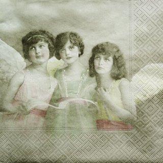 ペーパーナプキン(33)Sagen:(5枚)【s-31】三人の天使