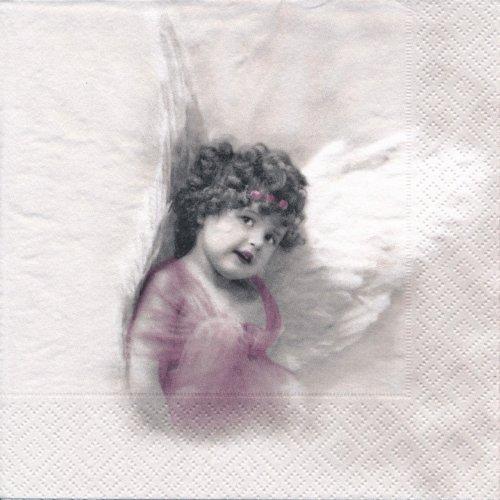 ペーパーナプキン(33)Sagen:(5枚)【43】ピンクの天使