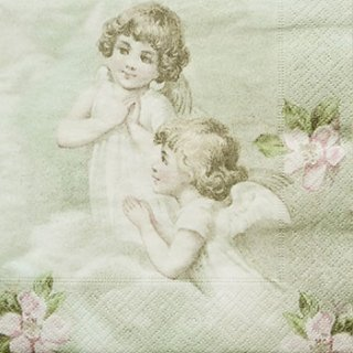 ペーパーナプキン(33)Sagen:(5枚)【66】Flower Fairies
