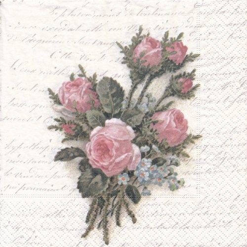 ペーパーナプキン(33)Sagen:(5枚)【69】Flower Bouquet