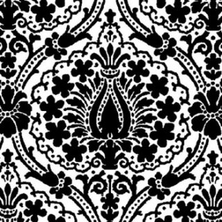 ペーパーナプキン(33)AMB:(5枚)JAIPUR ブラック-AM112