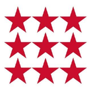 ペーパーナプキン(33)AMB:(5枚)STARS POS.RED-AM304