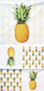ペーパーナプキン(33)AMB:(5枚)Tropical Fruit-AM320