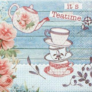 ペーパーナプキン(33)AMB:(5枚)Teatime-AM357